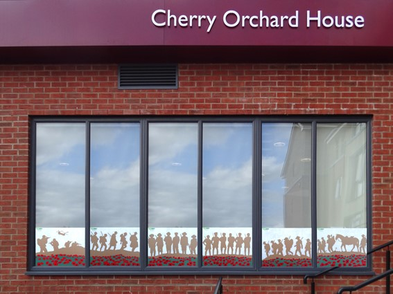 Cherry Orchard House Rememberance Mural