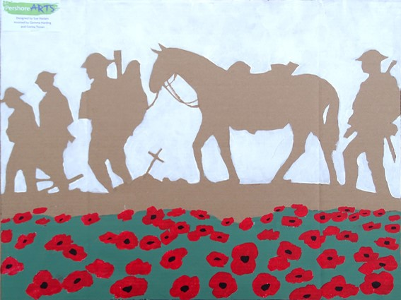 Rememberance Panel by Pershore Arts
